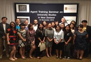 Agent Training Seminar on Universities Studies in New Zealand 2016